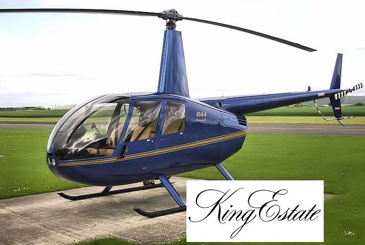 One of our live auction items this year is a helicopter ride around Lane County with a stopover at King Estate Winery for dinner - just your average Saturday night in Eugene, right!
