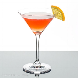 The Scofflaw contains Rye or Canadian Whiskey plus Vermouth among other tasty ingredients.