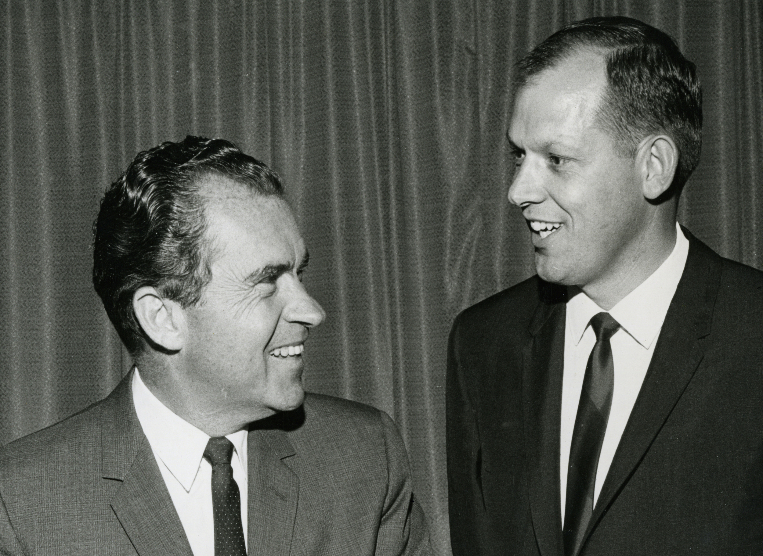 RR113 Richards with Lamar Buckner, Nixon 1970 CampaignA_crop.jpg
