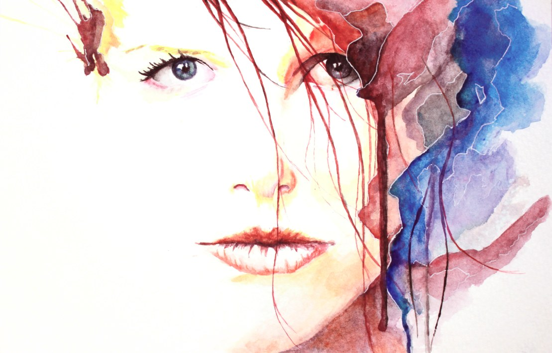 An Inspiration agnes cecile artist watercolor ink splatter abstract colorful painting bradley wilson studios.jpg