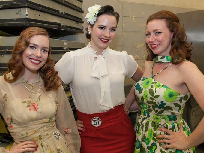 Madalyn Knebel, Ruby Spencer and Ada Atomic   Photo Credit: John Froelich