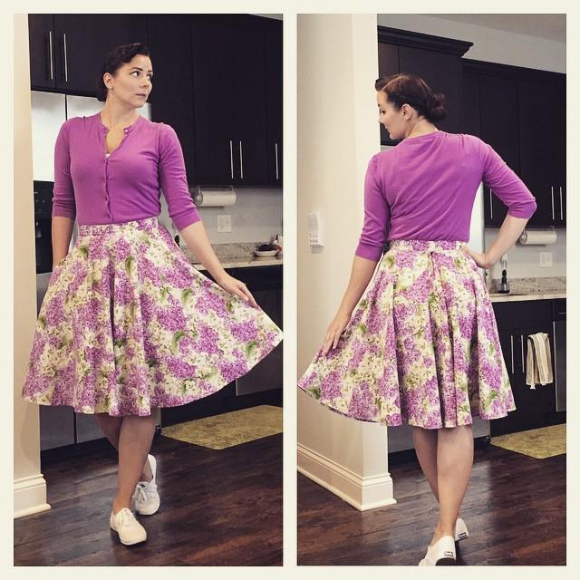 Cardigan - JCrew(old-  similar ), skirt - DIY, shoes -  Keds