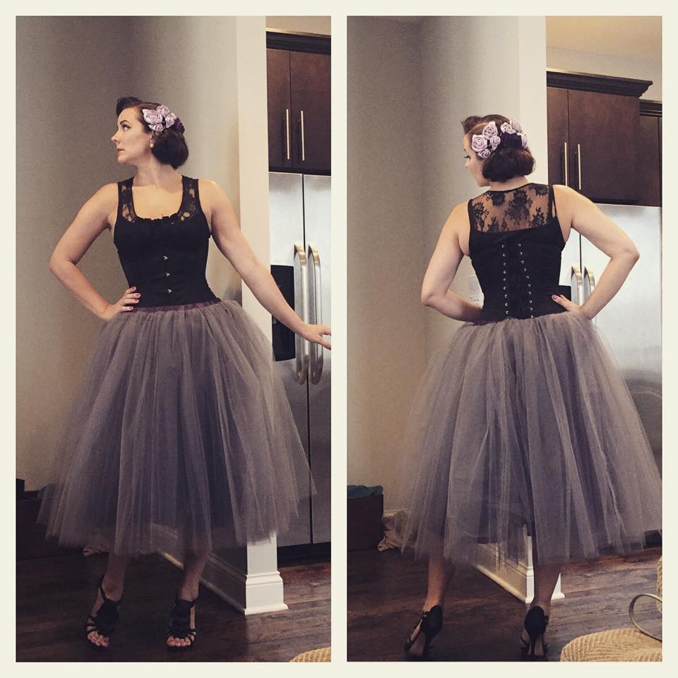 Tank: Express (old), corset:  Orchard Corset #345 , Skirt: homemade, shoes: NordstromBP brand (old)