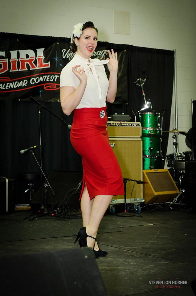 Cavalcade  Pinup Competition in Detroit, MI 2015