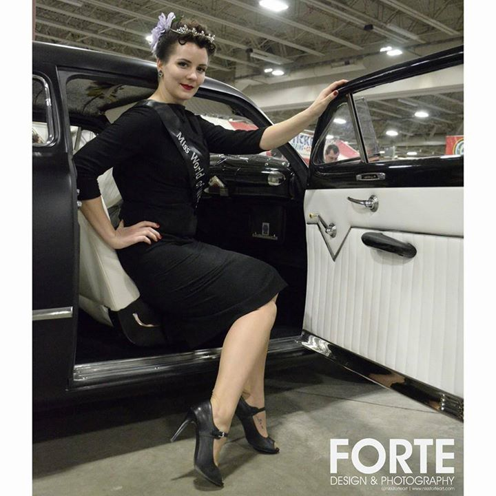 Miss World of Wheels 2015 - Milwaukee, WI