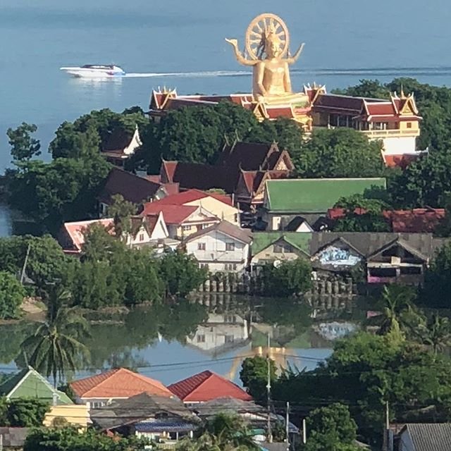 Wat Phra Yai a.k.a  Big Buddha, Koh Samui,Thailand  ##bigbuddha #watphrayai #photography  #shanghailifeThailand #instagood #instagoodmyphoto #wexworld