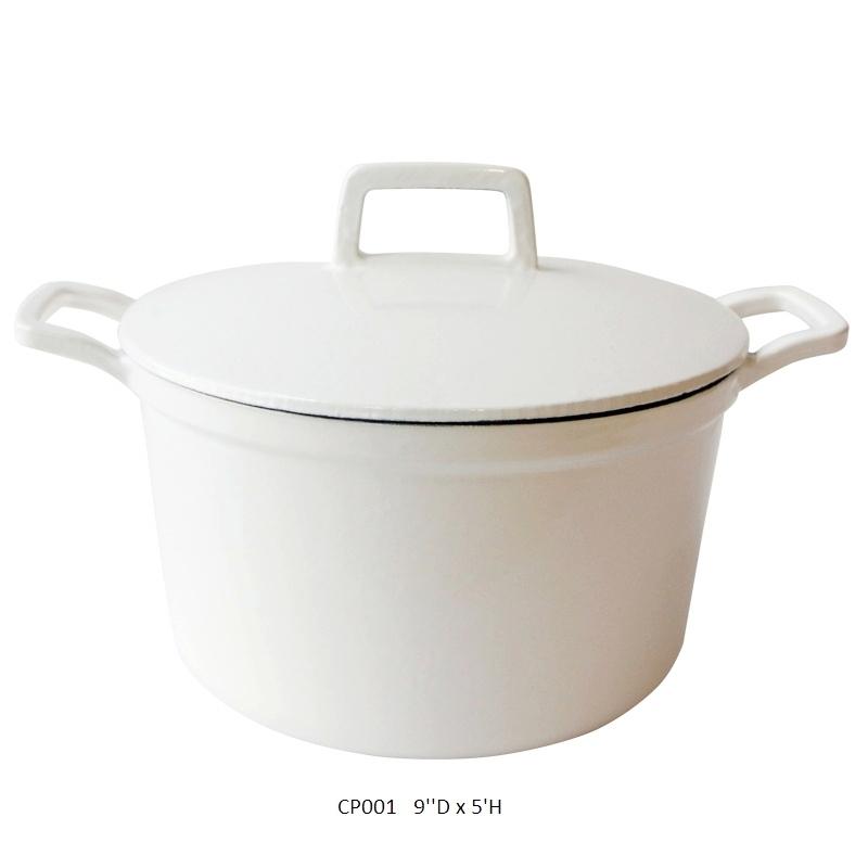 #cookingpot #foodphotographyprops #proprental #whiteenamelpot #moderncookware