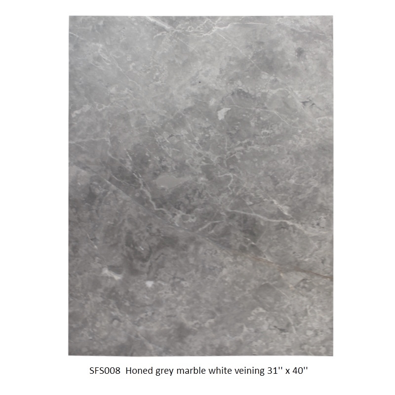 SFS008  Honed grey marble white veining 31_ x 40_.JPG