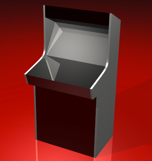 Original Mock Up for the Cabinet done in Autodesk Alias