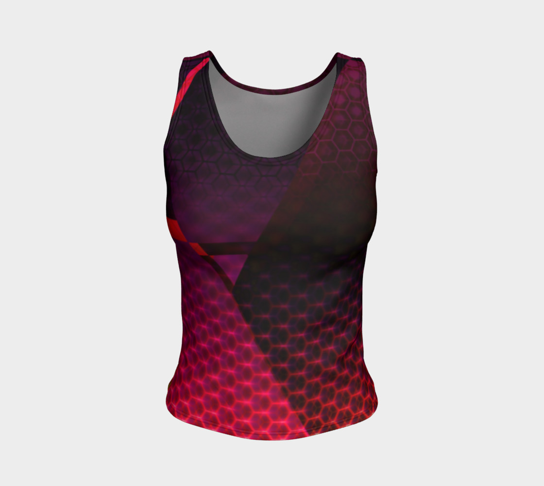 Fitted Tank Top - FutuRetro