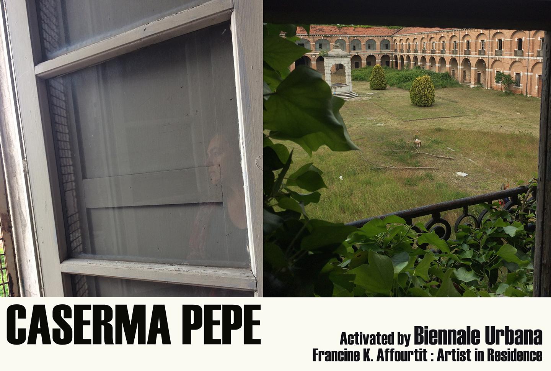 Residency at Caserma Pepe