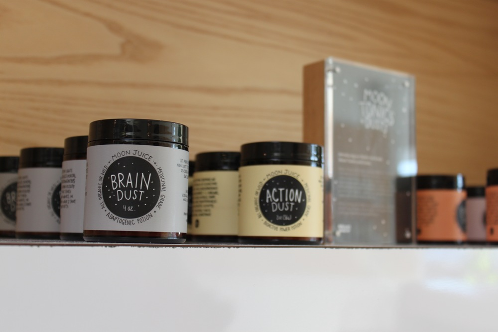 6. Moon Juice - If you want to understand the medicinal food trend, head to Moonjuice. Pictured above: their sex, brain, love and sleep powders which are now sold at Urban Outfitters.
