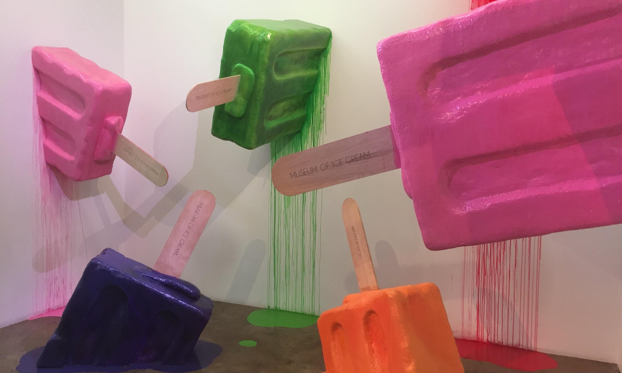 Eye of Ebco: Museum of Ice Cream - Experiential Ice Cream Parlor / Pop Art Museum