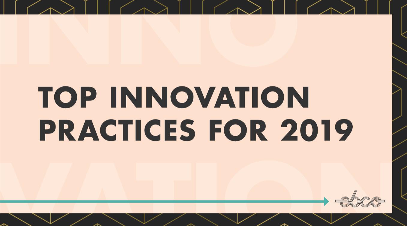 innovation 2019 Ebco