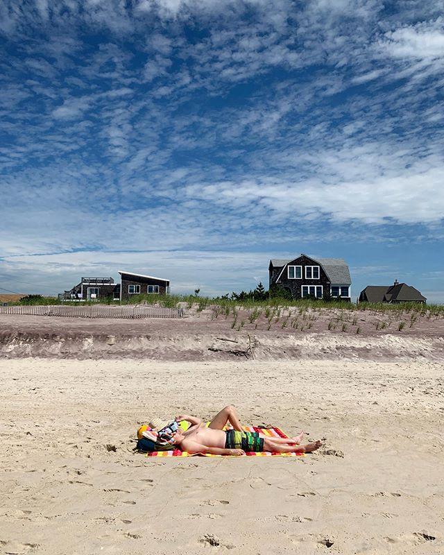 Summer Daze | July 2, 2019 ☀️ 🏖 🌊 👙 🧢 #nofilter #summer #NY #LI #FI #beach #happythankyoumoreplease