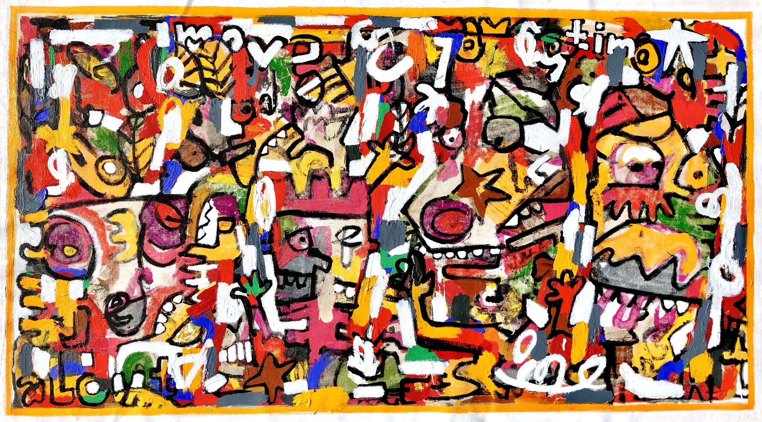 """How Do You Know It's Gold, 31x57"""""""