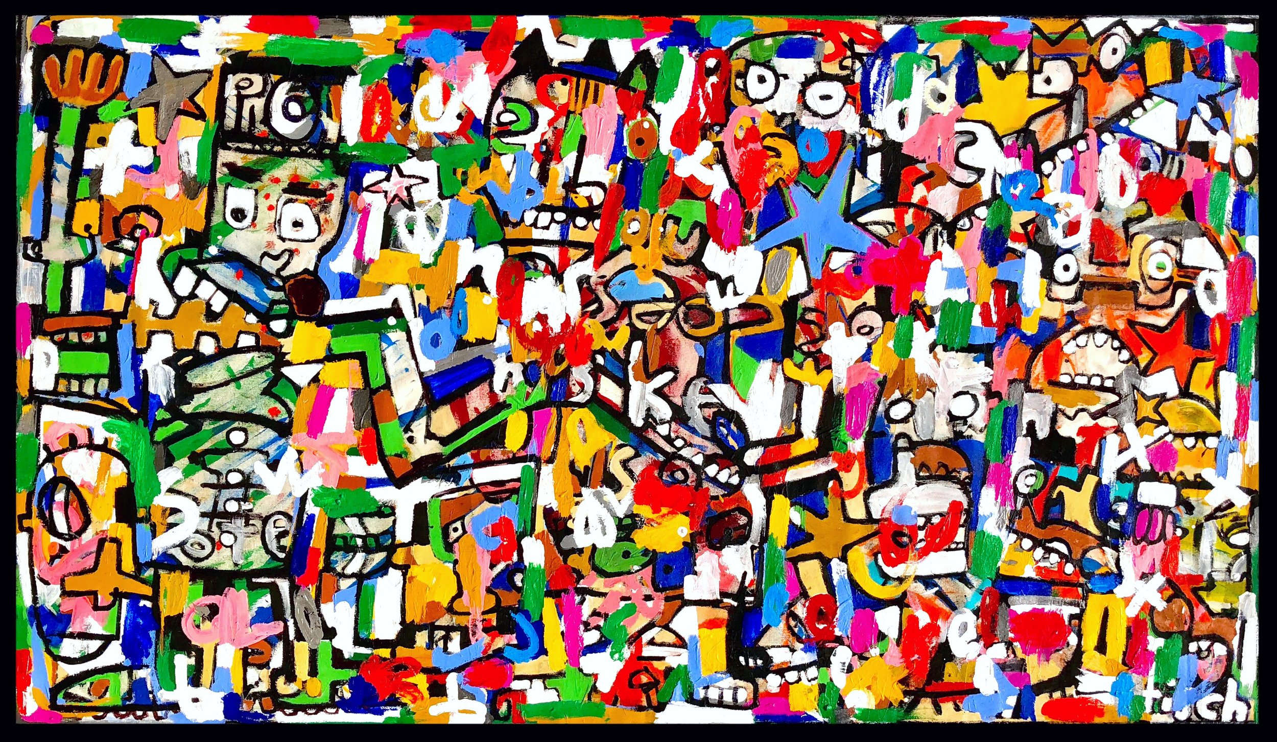 Rockets To Russia, 46x80""