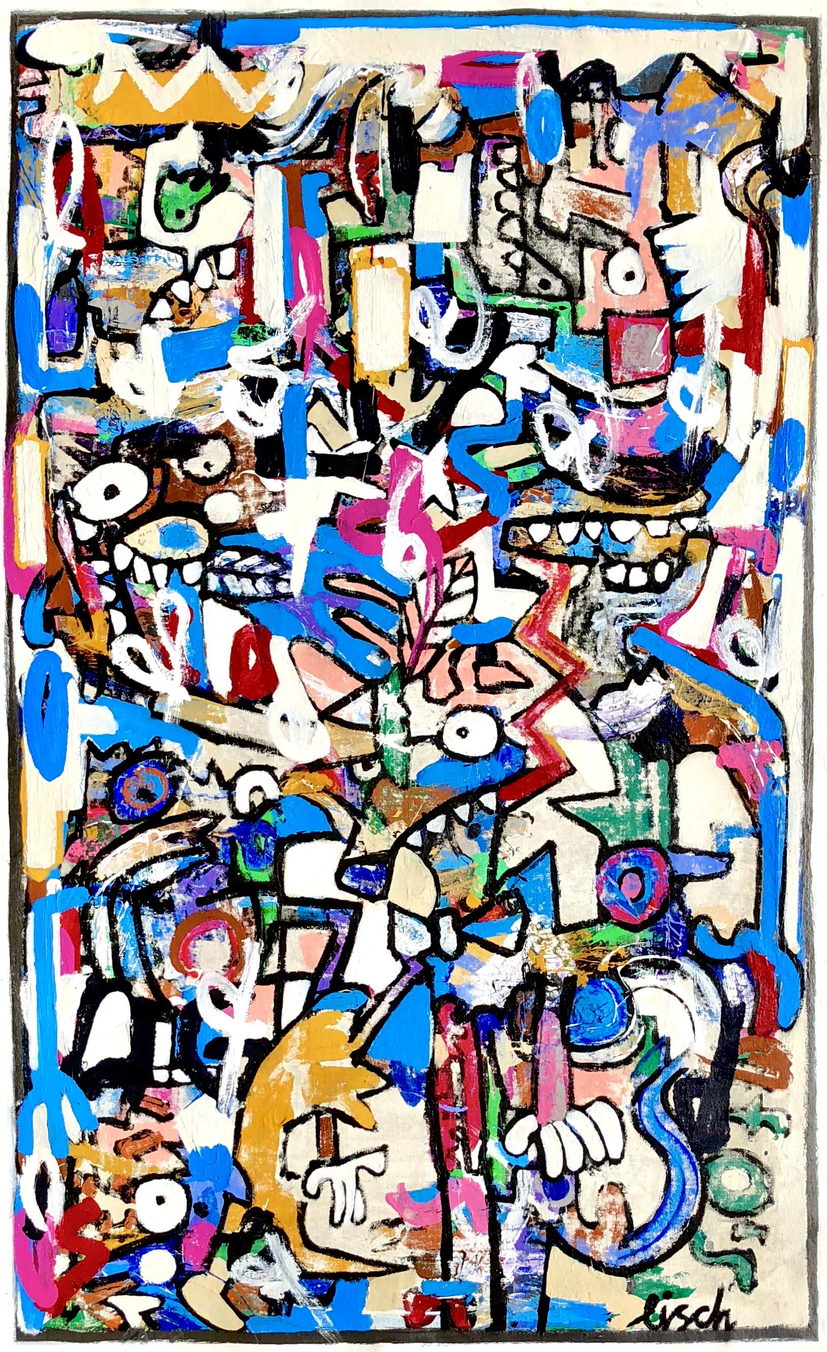 """Lizard King, 56x35"""""""