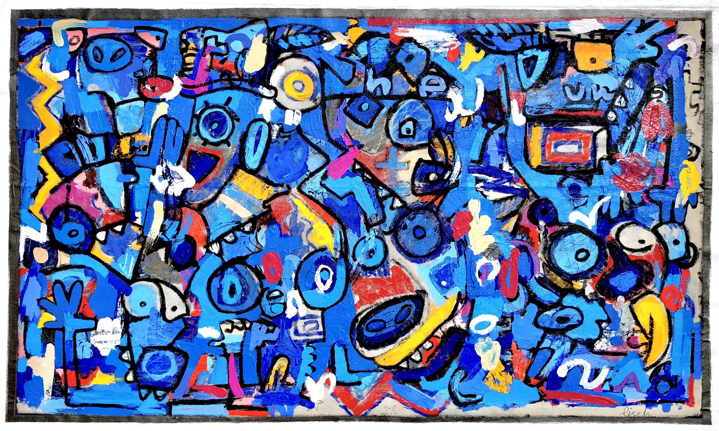 """Spirit of the Bull, 38x63"""""""