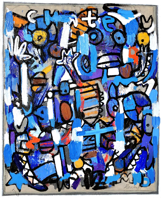 """Chateau Bleu, 38x30"""""""