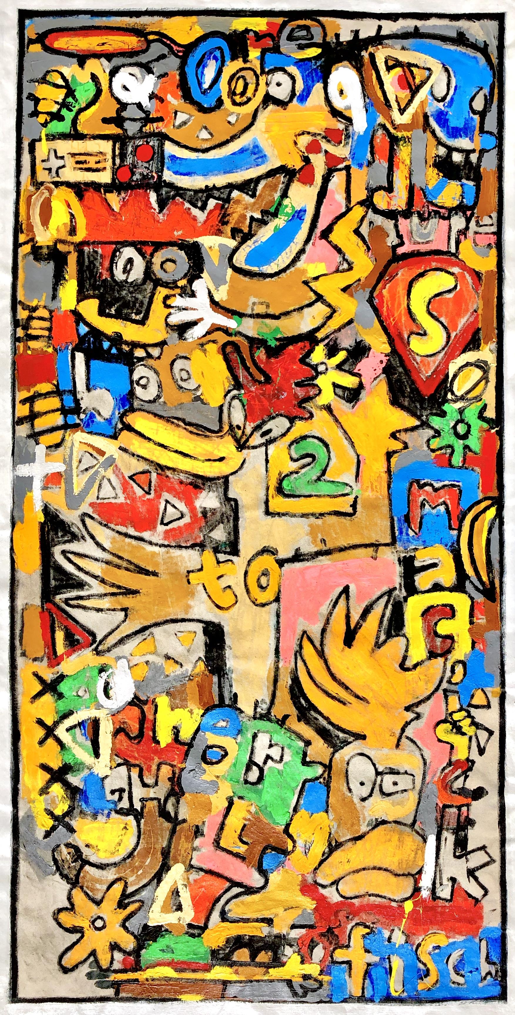 """Nostalgic Moonchild, 67x34"""""""