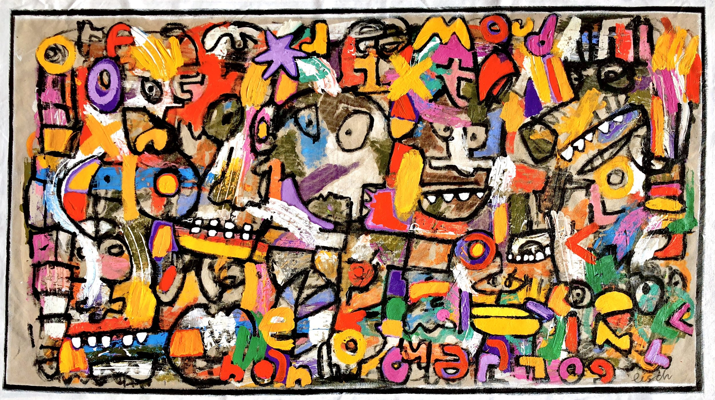 """Witch Doctor, 37x66"""""""