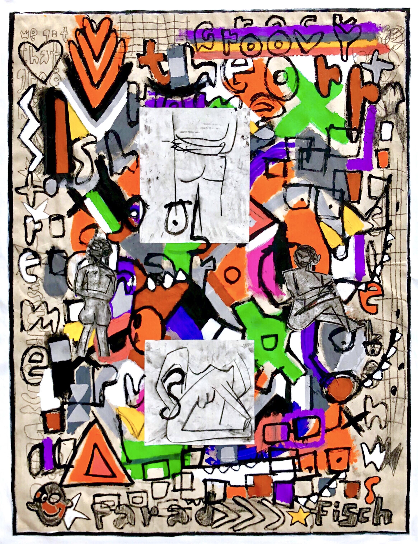 """Art School 1985, 67x52"""""""