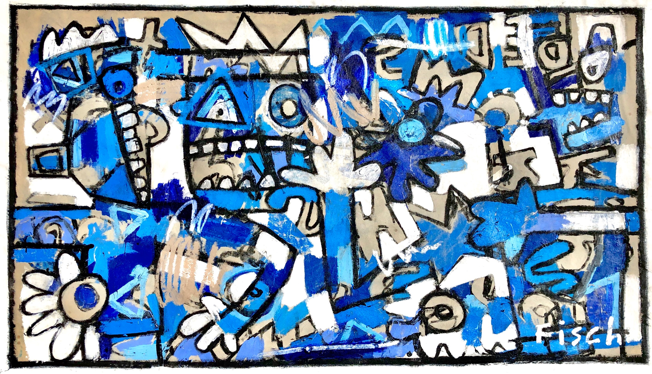 """Without Bounds, 32x55"""""""