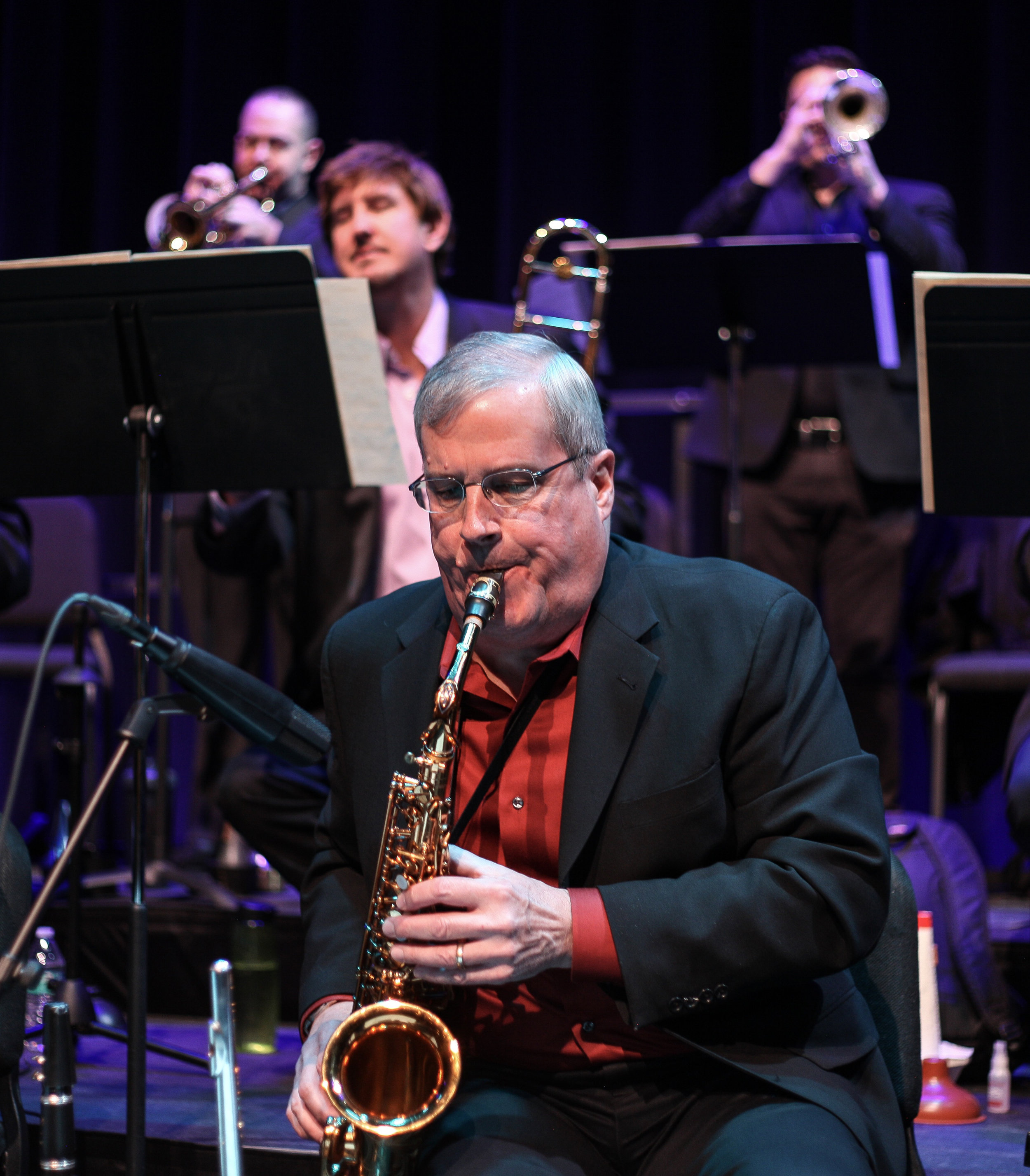 With Colorado Jazz Repertory Orchestra
