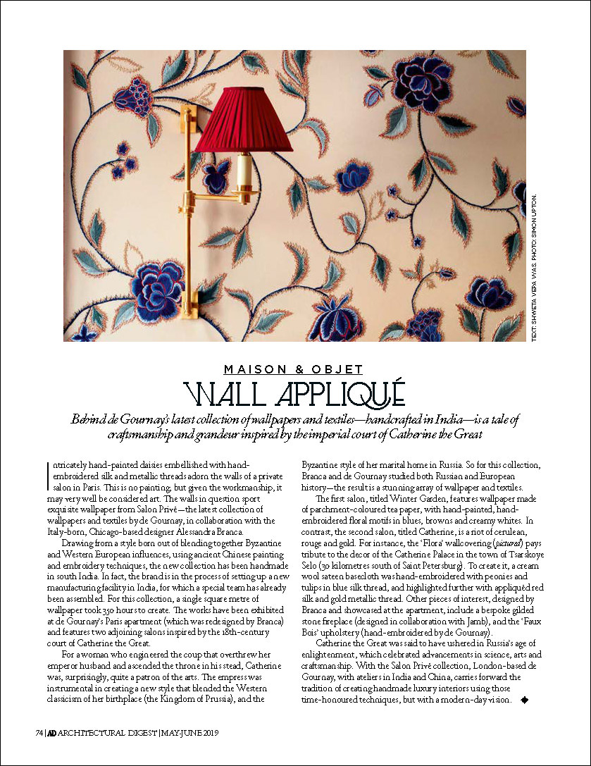 May-June 2019 Architectural Digest India Alessandra Branca collection_Page_2.jpg
