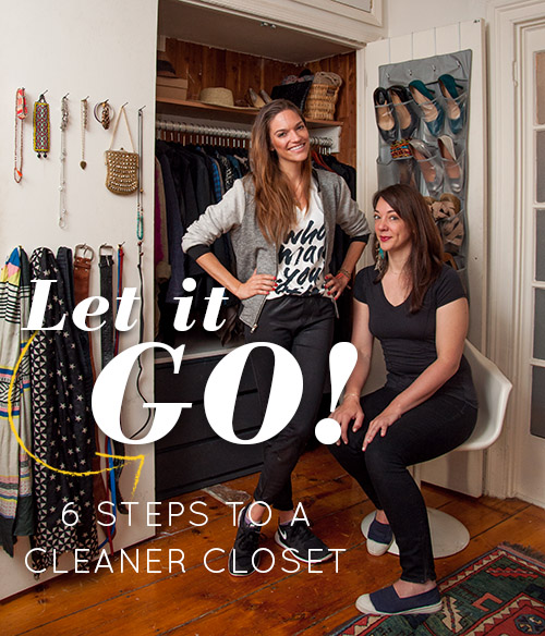 The first closet makeover -- when I thought that I knew it all.