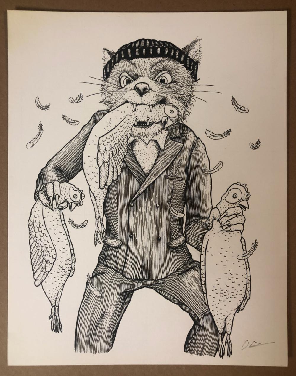 Original Drawings Dan Grissom Biscuit Press