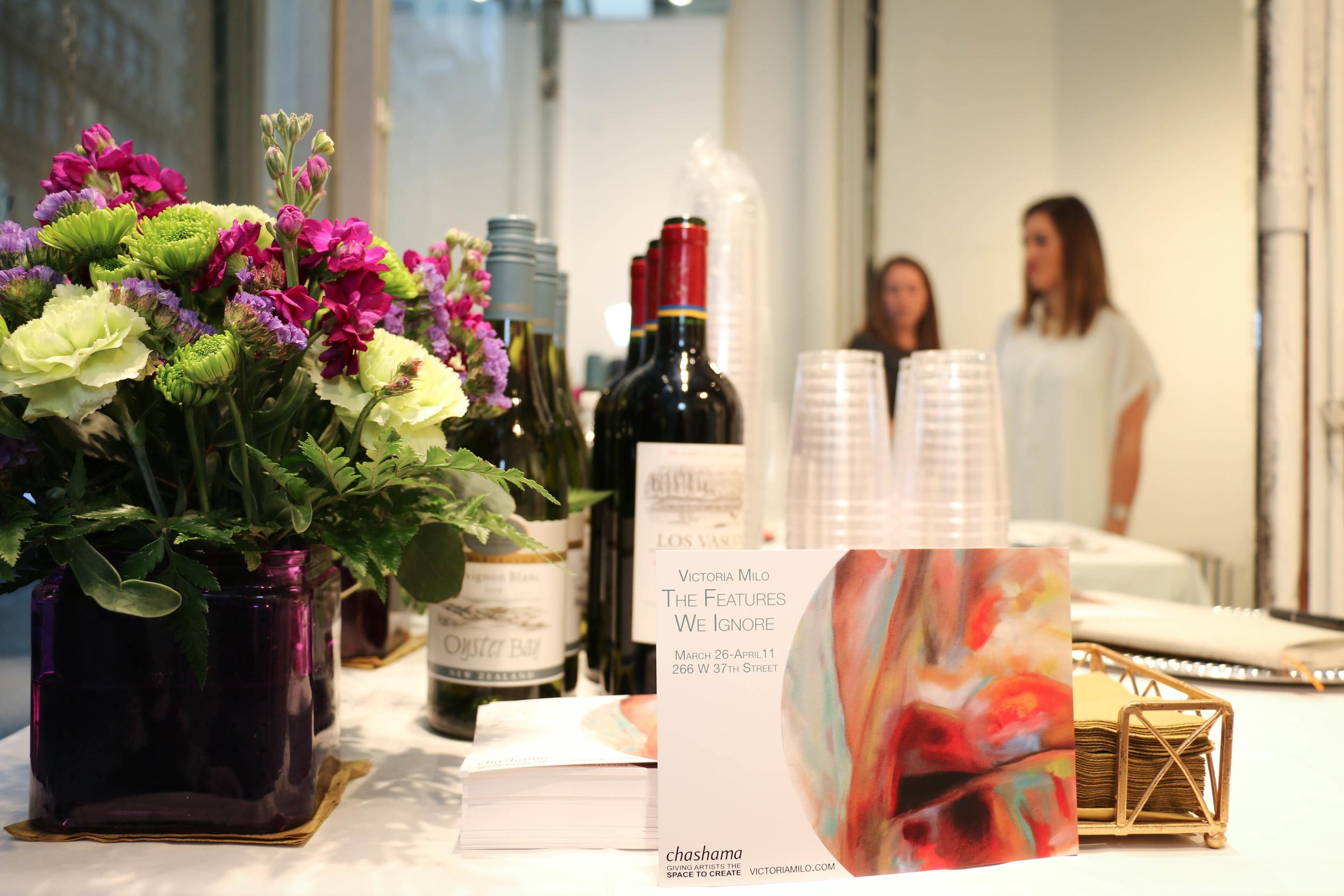 NYC Gallery Opening Night