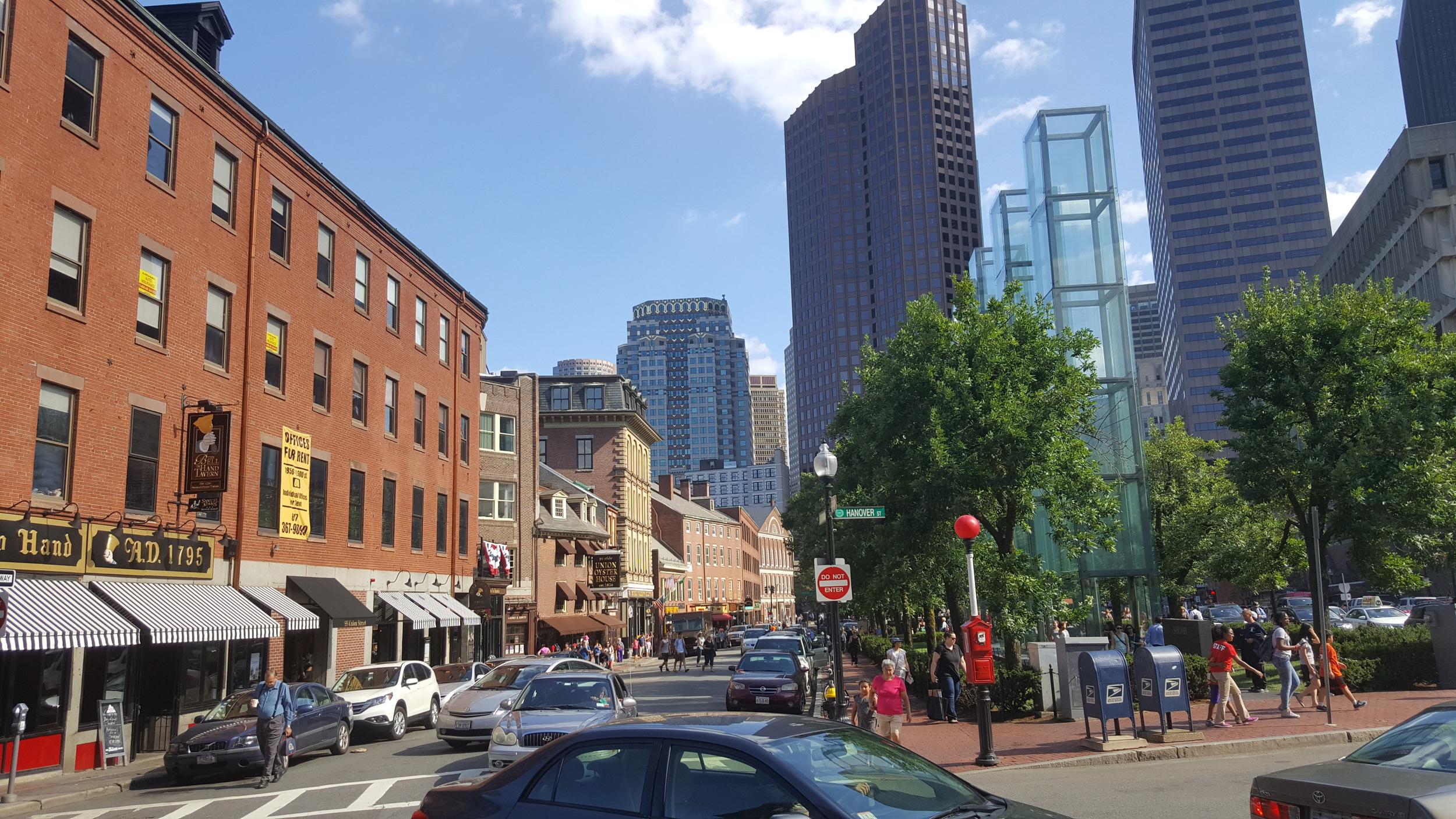 Boston's Haymarket Area