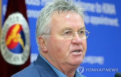 거스 히딩크 전 감독<<연합뉴스 자료사진>>