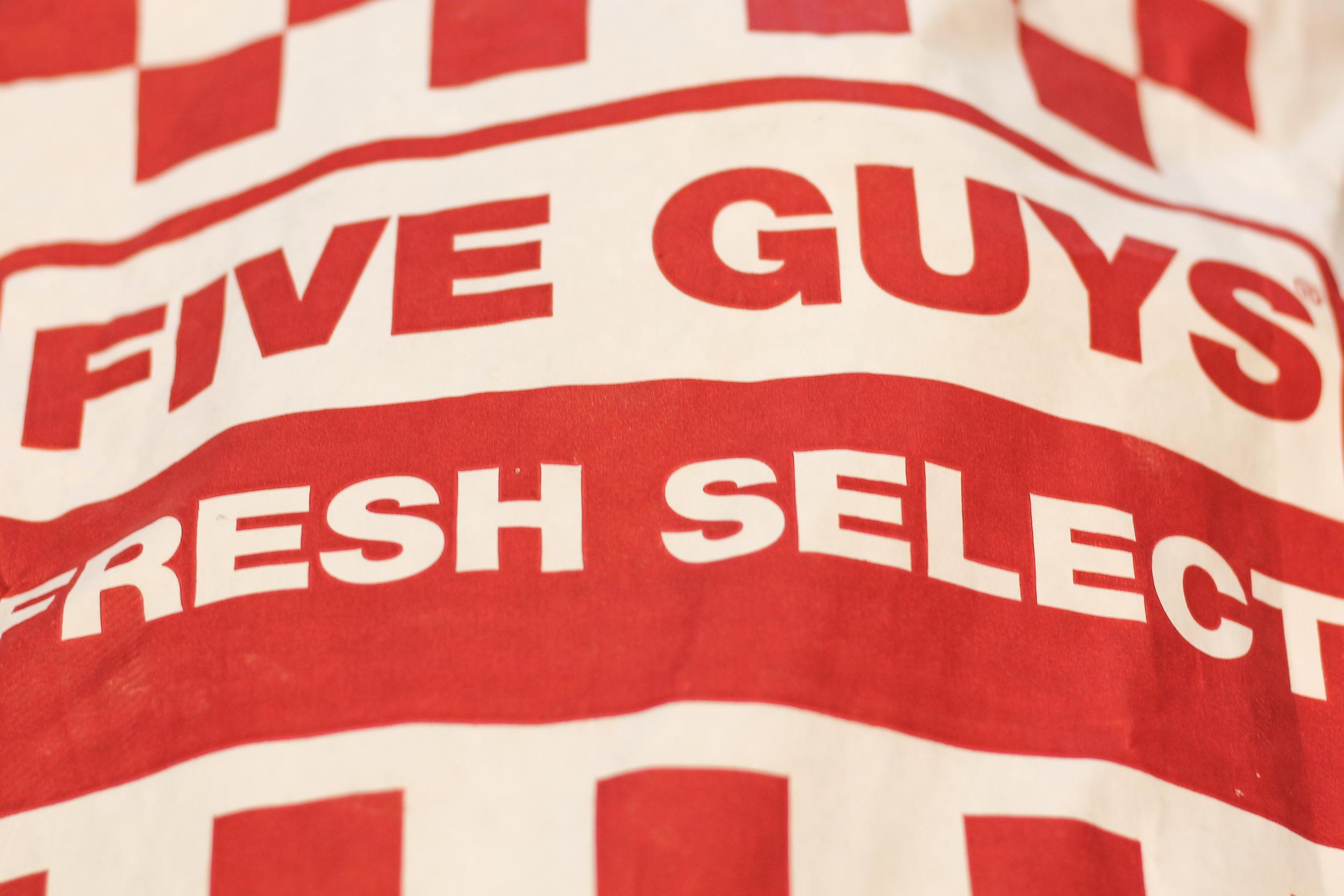 5 Guys Gluten Free