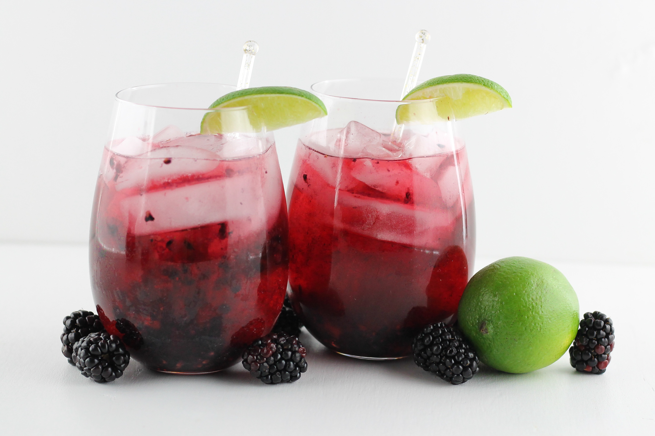 Blackberry Pomegranate Spritzer
