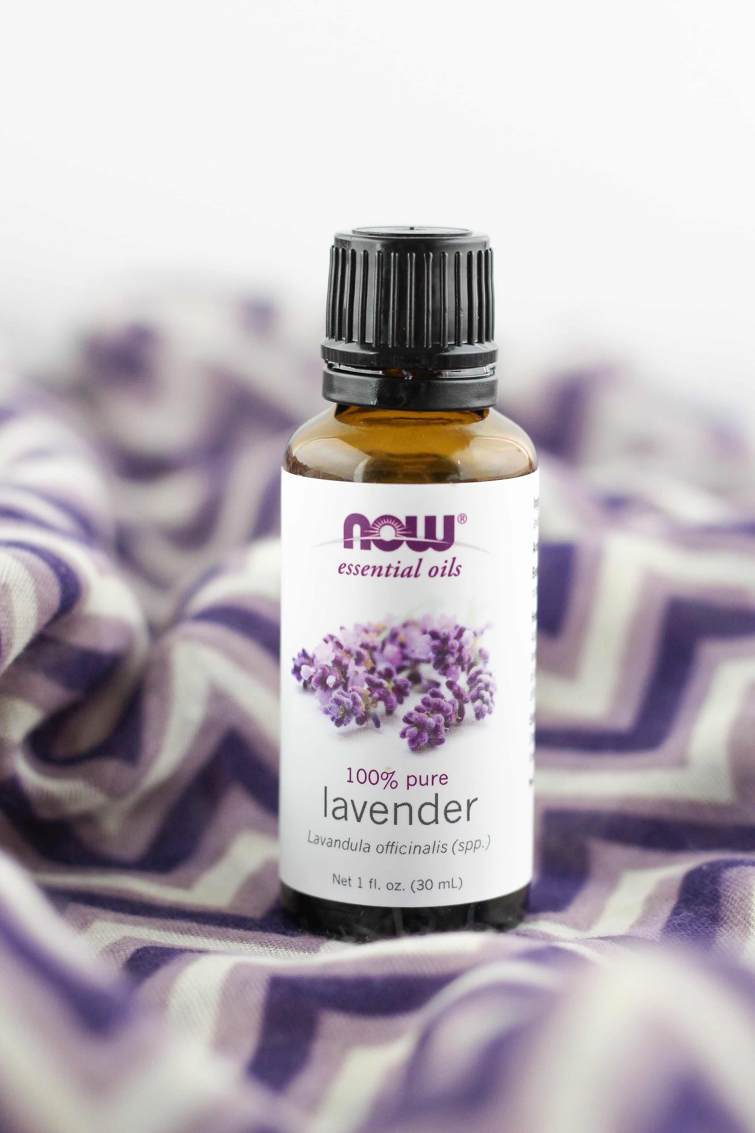 Decreased anxiety with lavender essential oil
