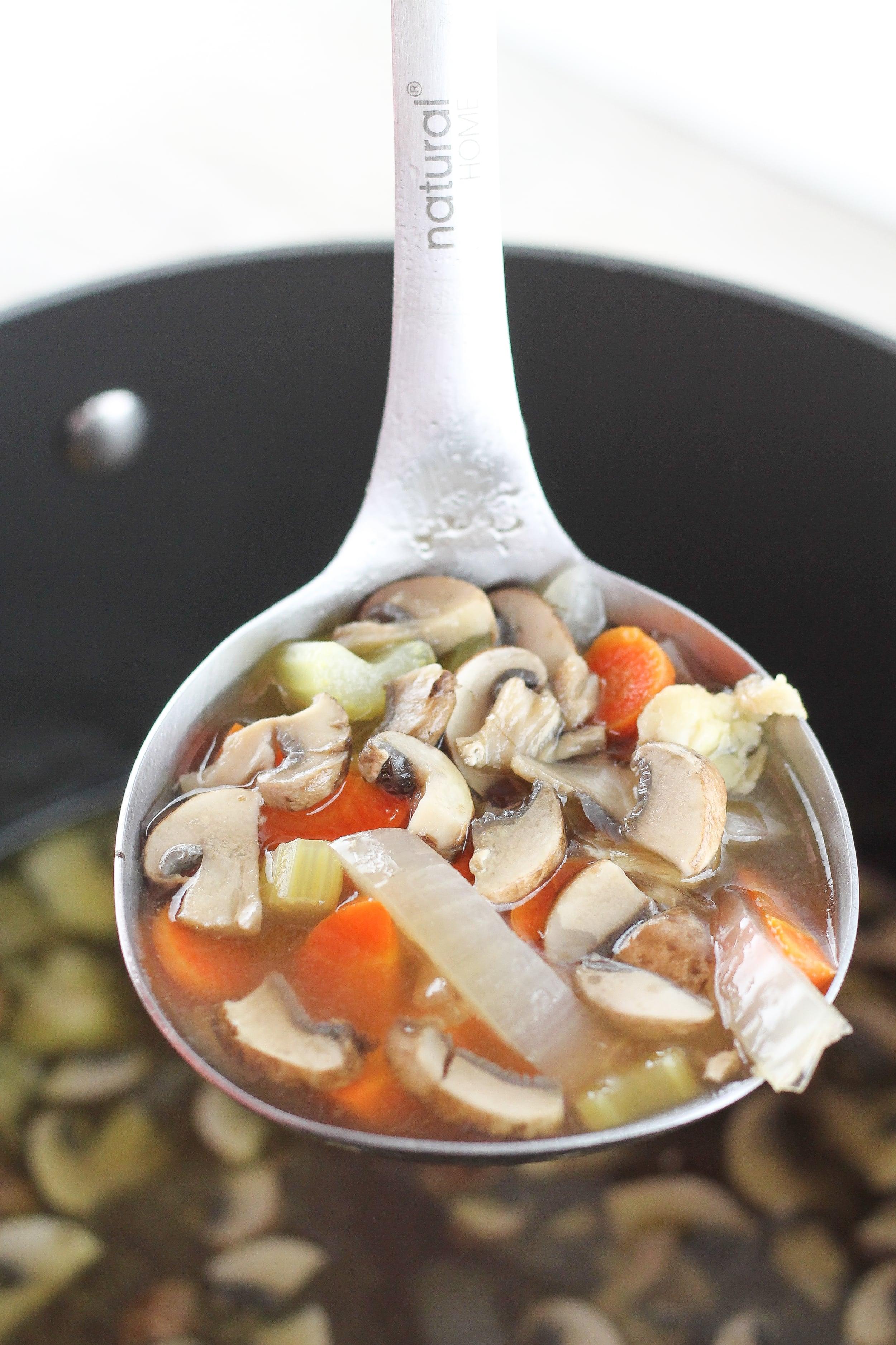 Grain free, gluten free, dairy free, chicken vegetable soup
