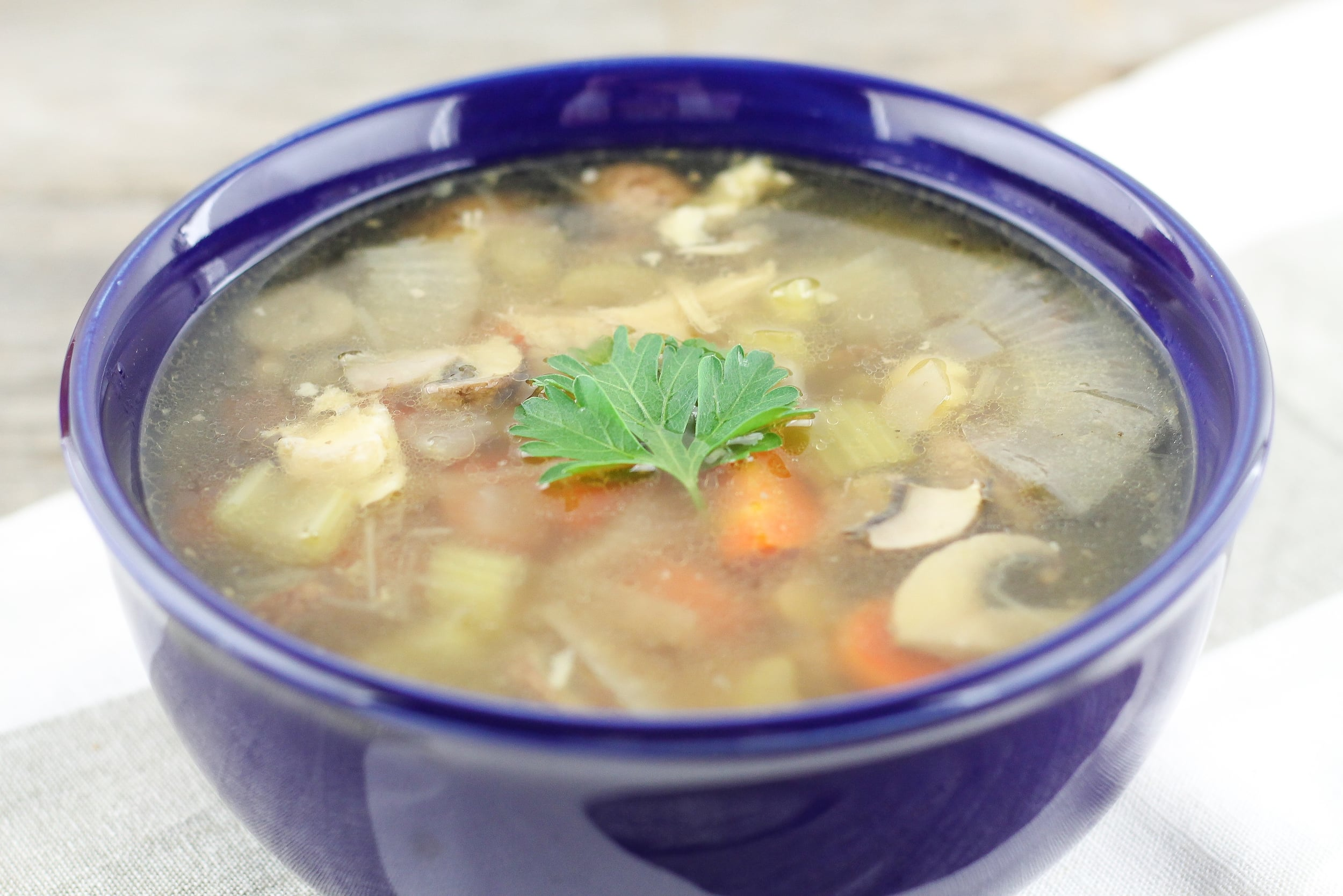 Paleo Healing Bone Broth Soup