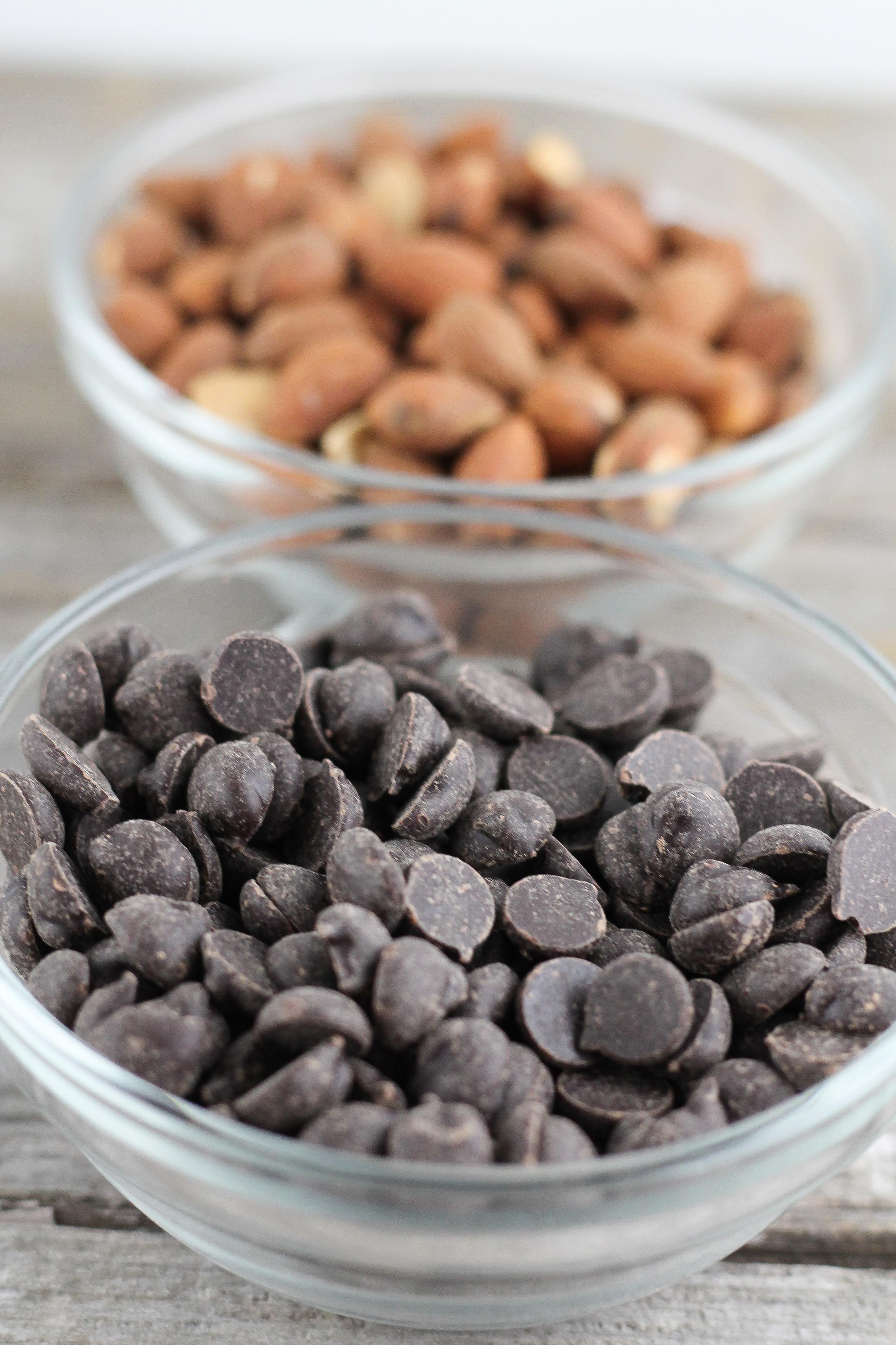 Sea Salt Dark Chocolate Nut Clusters, Paleo, Primal, Healthy Snacks