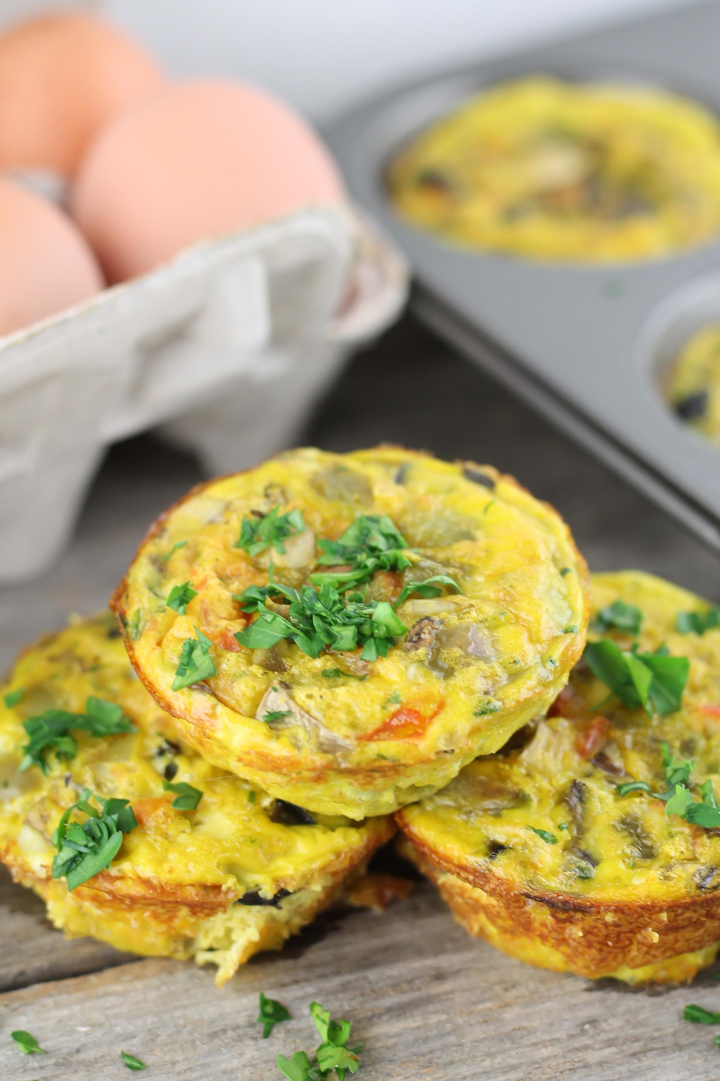 Eggs, Grain Free, Primal, Paleo Recipe, Breakfast, Muffins