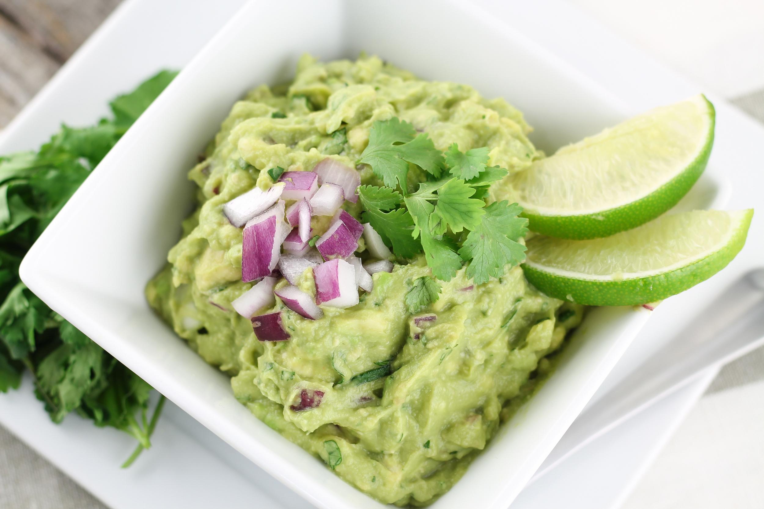 Paleo Guacamole, Homemade, Easy, Quick, No Mess, Healthy Guacamole