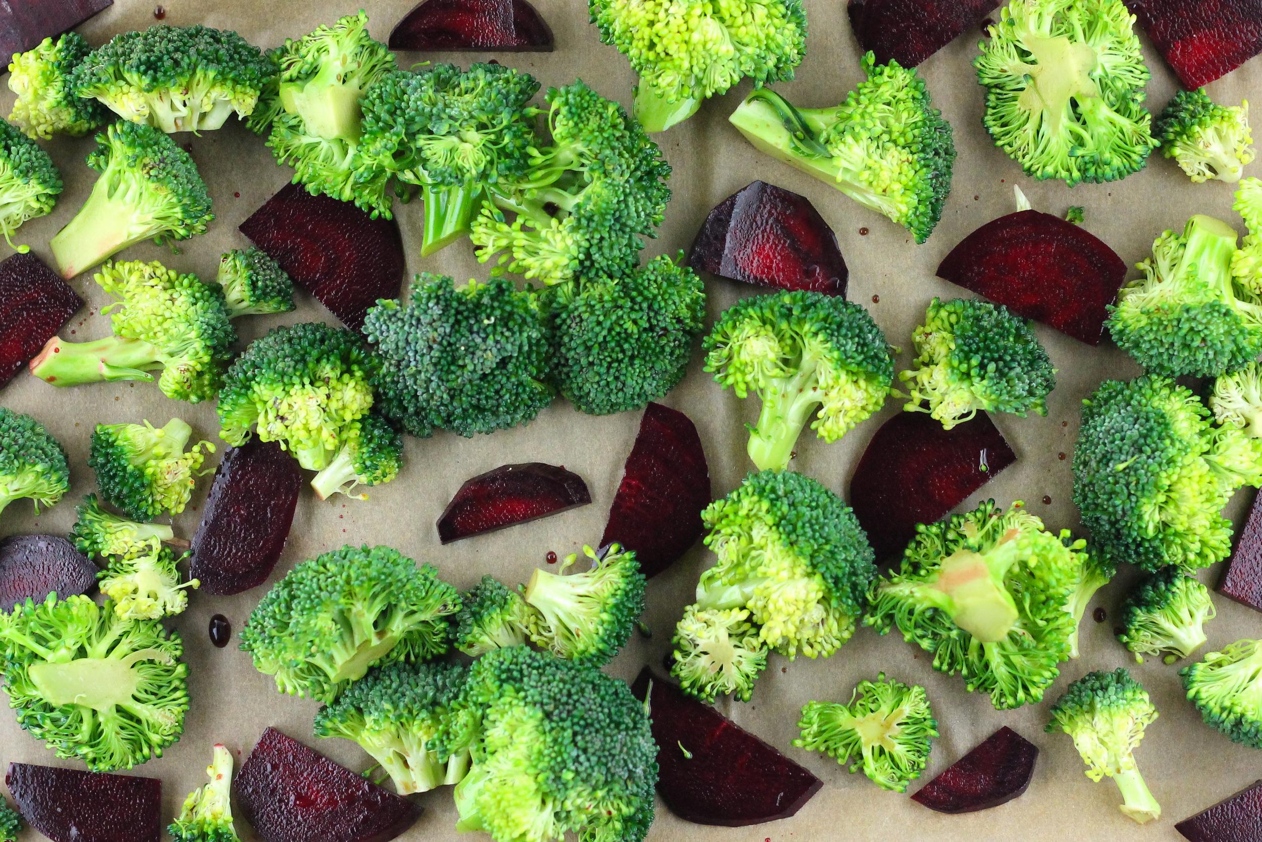 Oven Roasted Vegetables, Paleo, Primal, Gluten Free, Paleo Sides, Broccoli