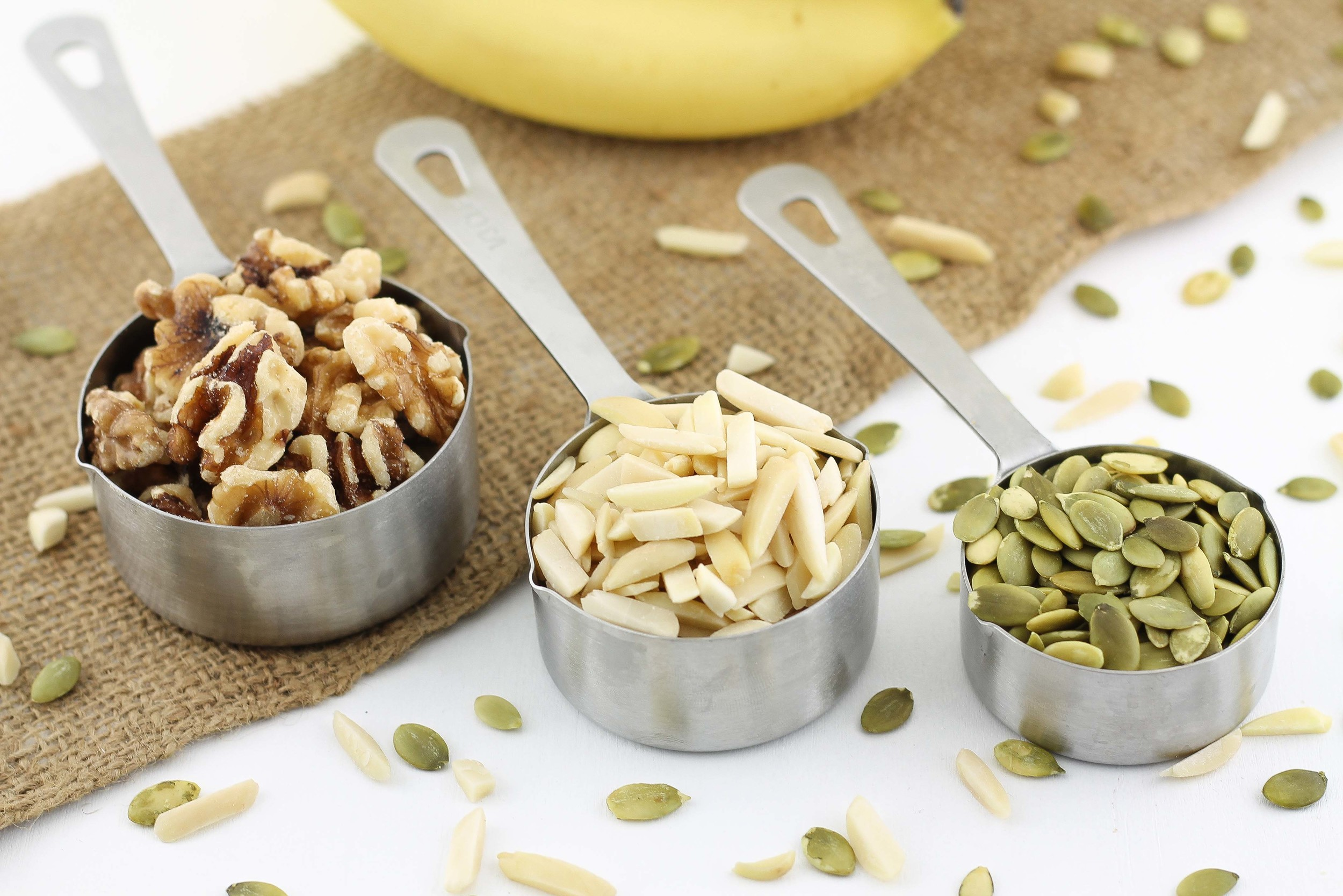 Almonds, Walnuts, Brazil Nuts, Mocha, Coffee, Pumpkin Seeds, Easy, Simple, Paleo Diet, Recipes, Breakfast, Gluten Free
