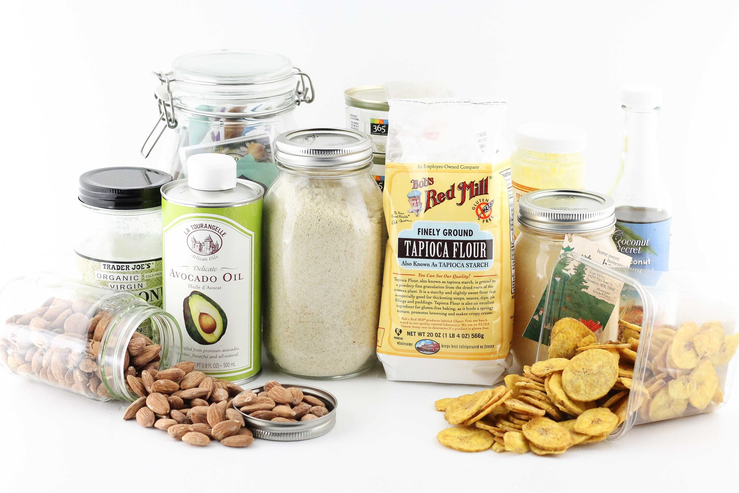 Healthy fats, Grain Free Flour, Grain Free, Gluten Free, Coconut Oil, Wild Caught Fish, Plantain Chips, Ghee