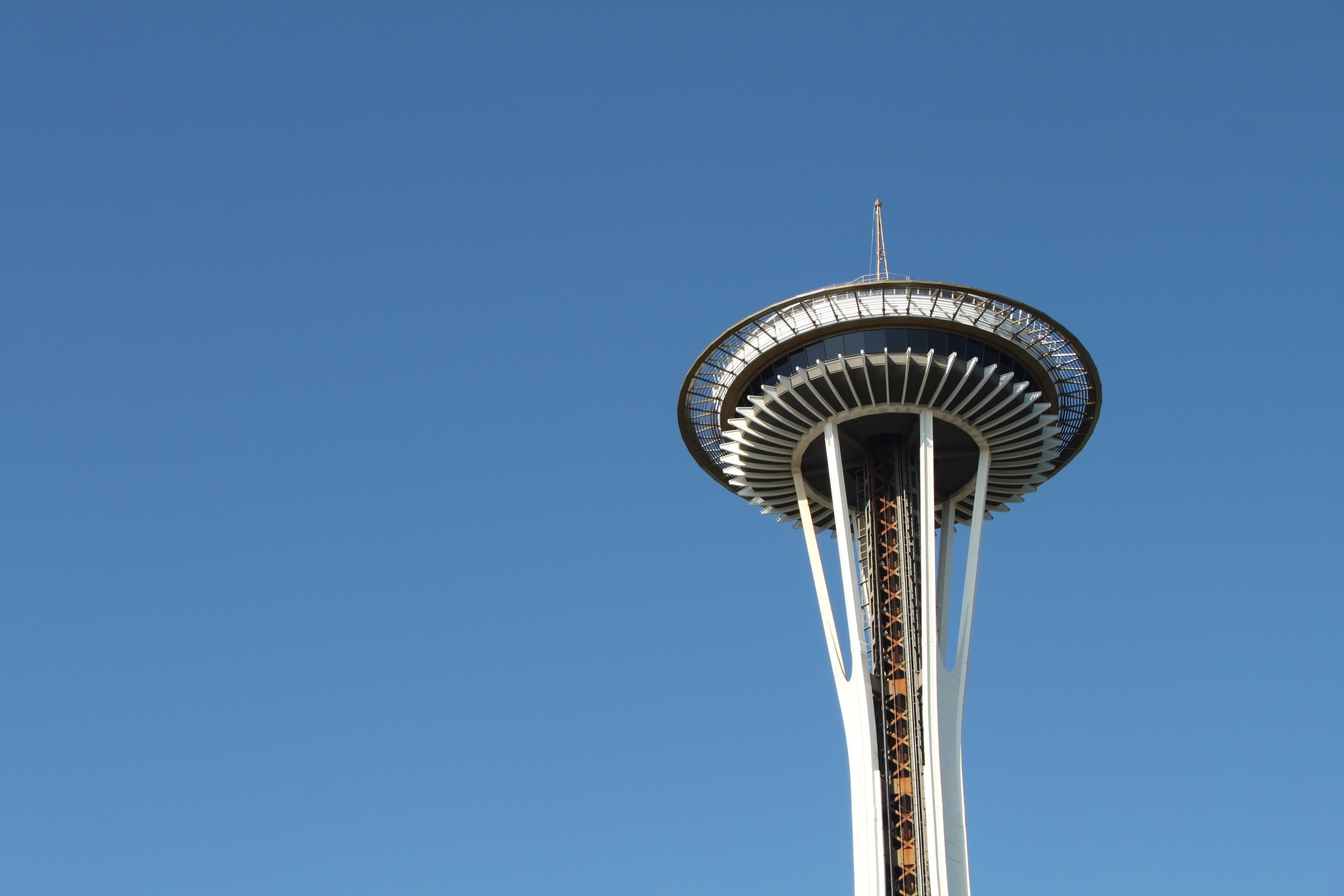 Seattle, Summer Vacation, West Coast Road Trip, Summertime, Driving, Space Needle,