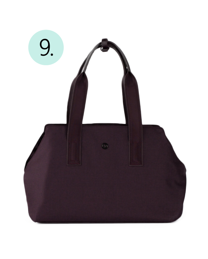 Lululemon, On The Go, Day Bag, Water Resistance, Large Tote, Gym Tote, Gym Bag, Stylish, Multipurpose,