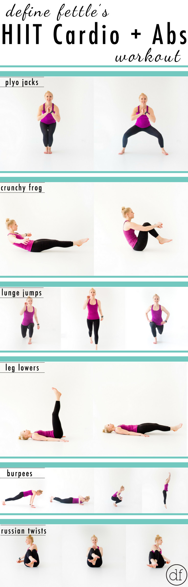 Pinterest, HIIT, Home Workout, Cardio, Quick, Simple, Equipment Free, No Equipment, Abs, Core,