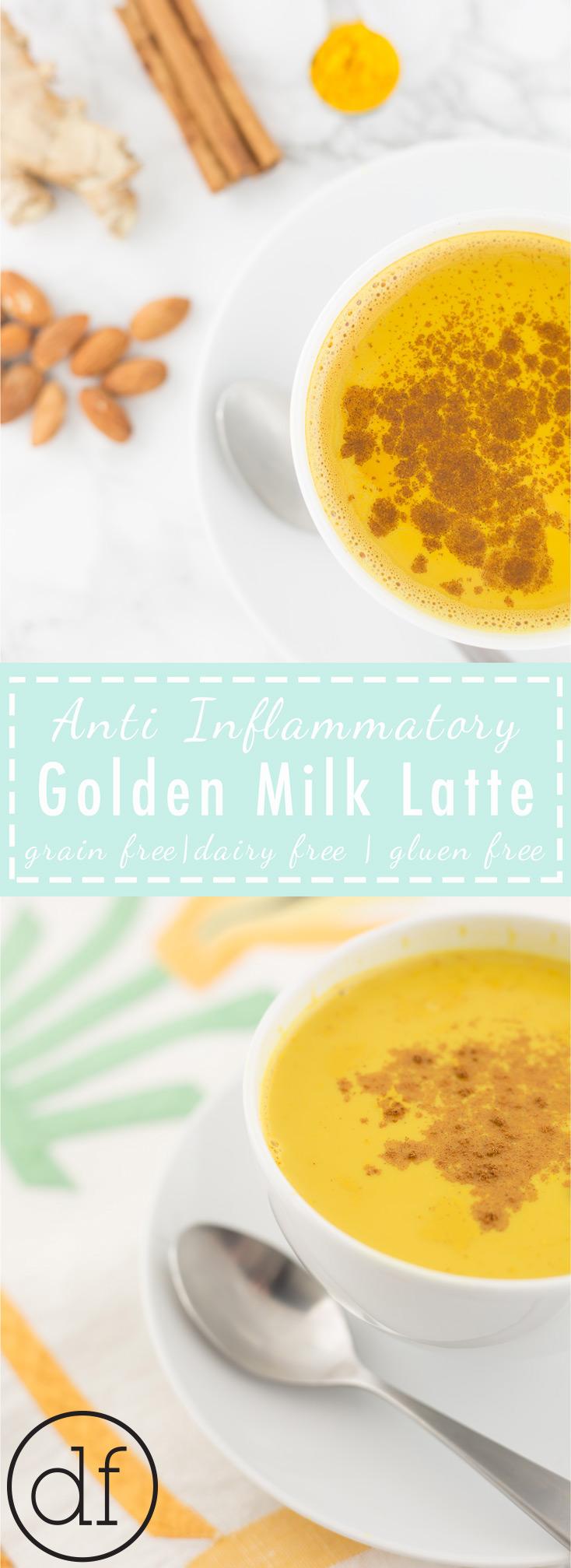 Golden Milk Latte, Anti Inflammatory, Turmeric Latte, Curcumin, Golden Milk Tea, paleo, Recipes, Easy, Simple, Bedtime Tea, Define Fettle, Health Coach